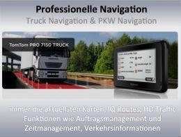 TomTom GO 7000 Truck für die optimale Routenplanung